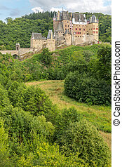 Burg Eltz Castle - View of the Burg Eltz Castle Germany