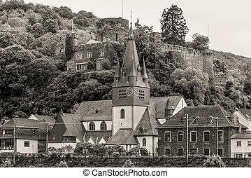 Germany, Rhine Valley, Unesco World Heritage, village Niederheimbach