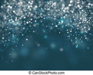 elegant Christmas blue background
