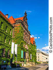 The National museum in Wroclaw, Poland - The National museum...