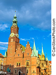 Old City Hall in Wroclaw, Poland