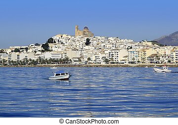 Altea Alicante province Spain view from blue sea - Altea...