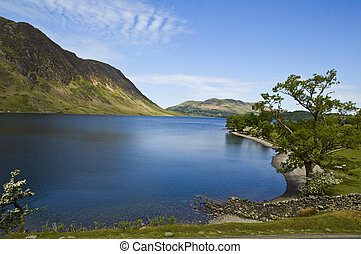 Buttermere - buttermere uk lakes landscape colourful...