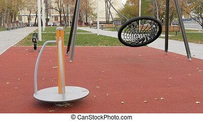 Blank, children's playground. - Blank, children's...
