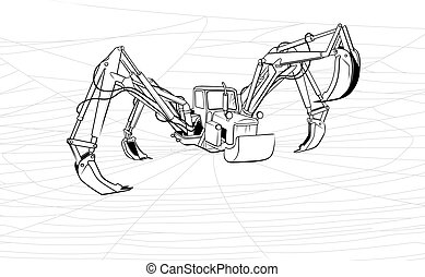 Tractor-spider or increase of the productivity -...