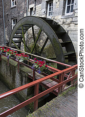 Waterwheel - Maastrcht - The Netherlands - De Bisschopsmolen...