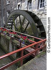 Waterwheel - Maastrcht - The Netherlands - De Bisschopsmolen...