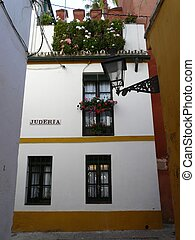 Houses in Seville, Spain