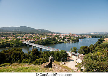 River between portugal and spain - Tui (Vigo - Spain)...