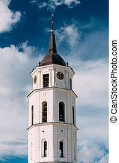 Vilnius Lithuania. Cathedral Basilica Of St. Stanislaus St....