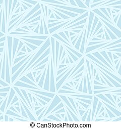 Abstract Geometric Light Blue Vector Pattern.