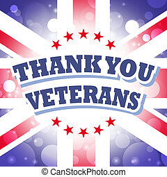 thank you veterans greeting card for uk remembrance day with...
