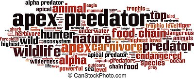 Apex predator word cloud - horizon - Apex predator word...