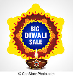 Happy Diwali Sell background