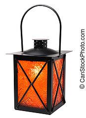 Lantern - lantern isolated on white background