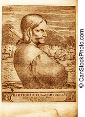 Pirate - picture of Portuguese pirate Bartholomeo Portugues...