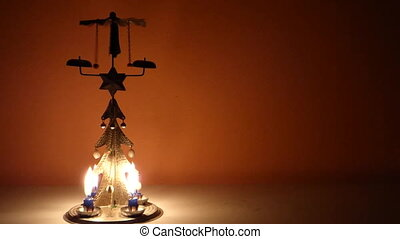 Christmas chimes - Christmas candle tree chimes