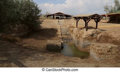 Baptismal Site, where Jesus was baptised by John the Baptist...