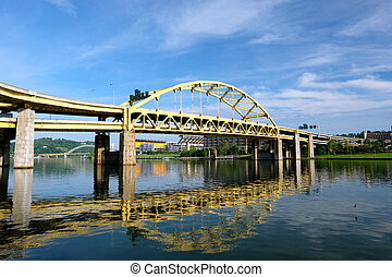 Bridge in Pittsburgh, Pennsylvania
