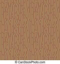 Retro brown wood grain shaped seamless background in vector...