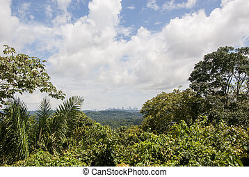 Panama City View from Ancon Hill
