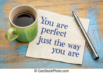 You are perfect just the way ... - You are perfect just the...