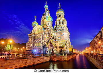 The Church of the Savior on Blood, St Petersburg, Russia