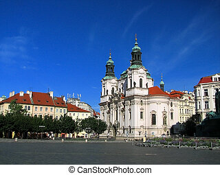 St Nicholas Church - Prague - Old Town Square, St Nicholas...