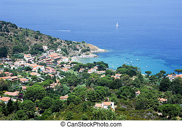 Cabo San Andrea on Elba Island,Italy