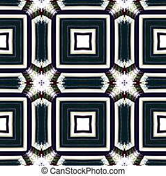 Black white fractal seamless abstraction