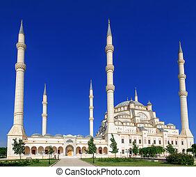 Sabanci mosque in Adana, Turkey - Sabanci Central Mosque...