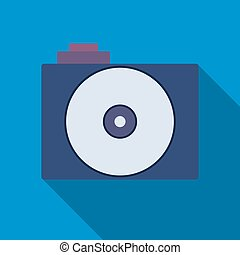 Professional photocamera symbol - Camera icon. Professional...