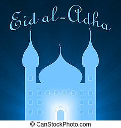 eid al adha concept illustration