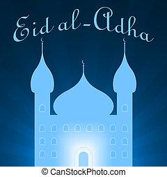 eid al adha concept illustration