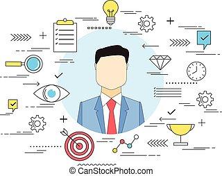 Job recruitment concept