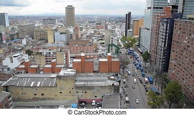 Bogota Cityscape View - View of downtown Bogota, Colombia...