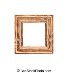 decoration for your portraits - Square frame made of...