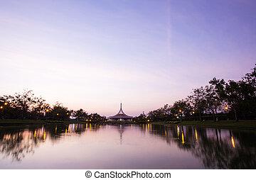 Public park in Bangkok, Suanluang Rama IX