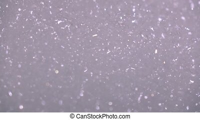 Foam bath tub. 4K close up pan shot - Foam bath tub. 4K...