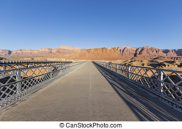 Historic Navajo Bridge in Glen Canyon National Recreation Area