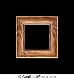 rich decoration for your portraits - Square frame made of...