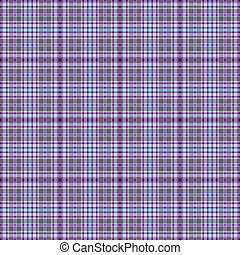 Seamless grey-violet checkered pattern