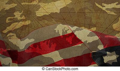 Veterans Day. Usa Flag
