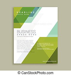 promotional brochure poster template