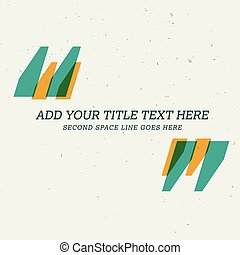 quotation background design with space for your text