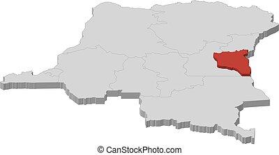 Map - Democratic Republic of the Congo, South Kivu -...