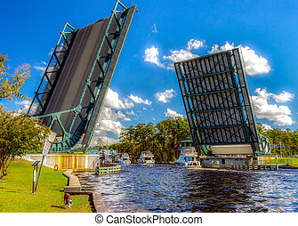 Great Bridge, Bridge - HDR - An HDR image of The Great...
