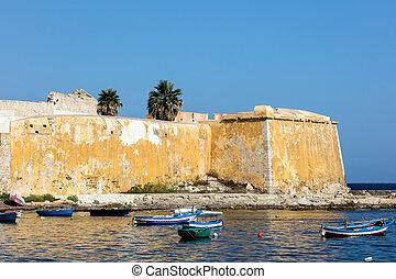 Bastion Conca in Trapani, Sicily - Bastion Conca, 15th...