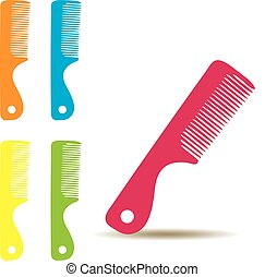 Hair Brush - vector hair brushes