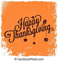 Thanksgiving vintage card background